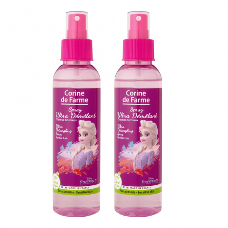 Lot de 2 Corine de Farme - La Reine des Neiges 2 Elsa - Spray Ultra Démêlant
