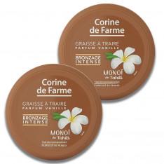 Lot de 2 Graisses à Traire au Monoï de Tahiti Bronzage Intense - Vanille