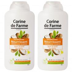 Lot de 2 Shampooings Nourrisant au Beurre de Karité 500ml