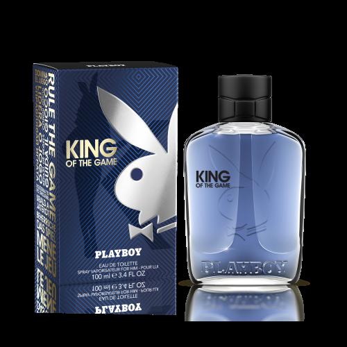 PLAYBOY Eau de Toilette 100ml KING OF THE GAME Pour lui